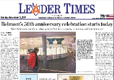 Belmont Complex 50th Anniversary in the Leader Times