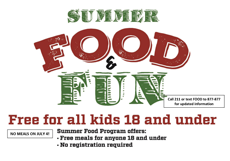Belmont Wsummer Food Program.