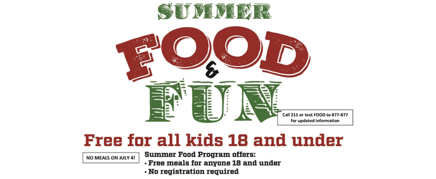 Belmont Summer Food Program